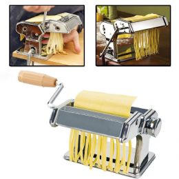 3 in 1 Heavy Duty Stainless Steel Pasta Maker Making Machine 3 Cutter Settings